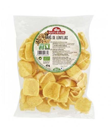 Natursoy - Lentils Chips Bio