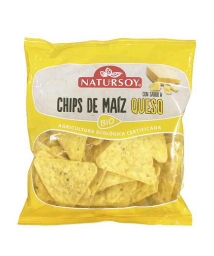 Natursoy - Bio cheese corn chips 75g