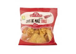 Natursoy - Chili Flavored Corn Chips Bio 75g
