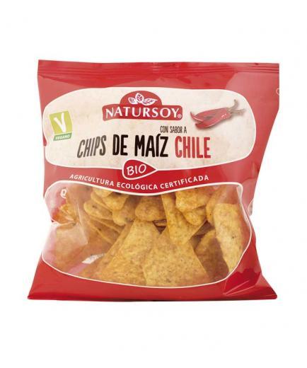 Natursoy - Chili Flavored Corn Chips Bio 75g