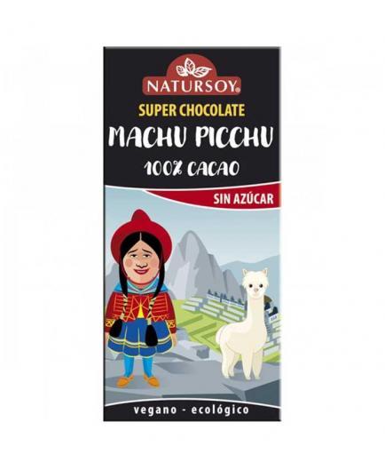 Natursoy - 100% cocoa Bio dark chocolate Machu Picchu