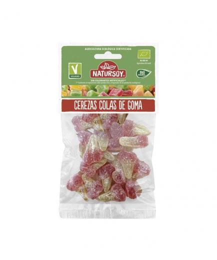 Natursoy - Vegan Gummies Cherries Organic Gum Tails 75g
