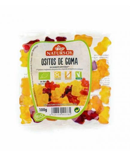 Natursoy - Gluten-free vegan gummies Bio Gummy Bears 100g