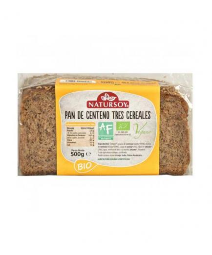 Natursoy - Three cereal rye bread