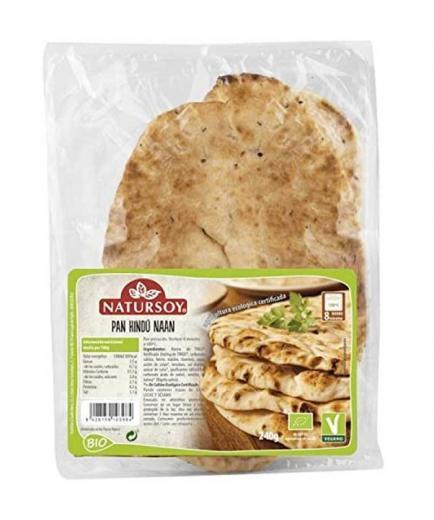 Natursoy - Organic Naan Indian bread 250g