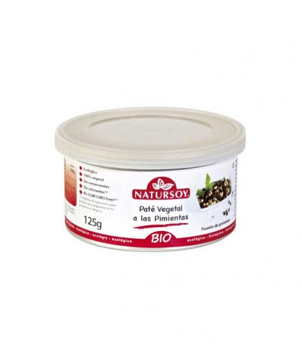 Natursoy - Bio vegetable pate with peppers 125g