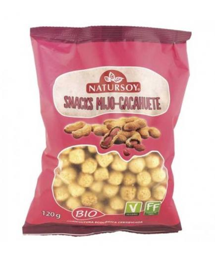 Natursoy - Bio millet and peanut snacks