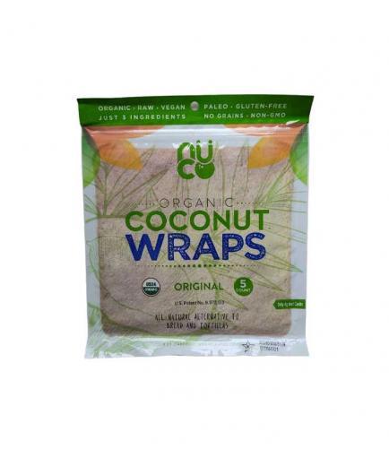 Nuco - Organic gluten-free coconut wraps 70g - Original