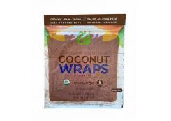 Nuco - Organic Coconut Wraps Gluten Free 70g - Cinnamon