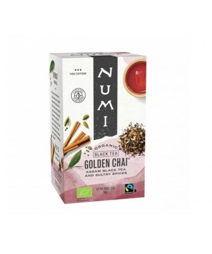 Numi - Golden Chai Infusion - 18 sachets