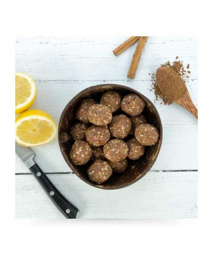 nut&me - Vegan energy balls snack 250g - Cinnamon and lemon
