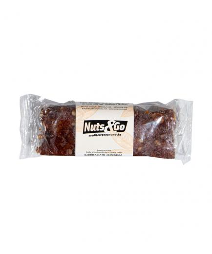Nuts & Go - 100% natural vegan and gluten-free energy bar 50g - Date with almond