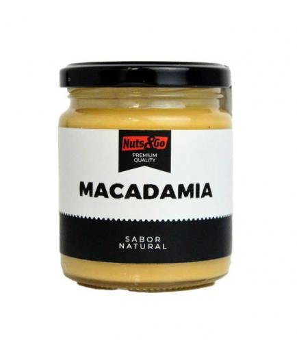 Nuts & Go - 100% natural macadamia cream 200g