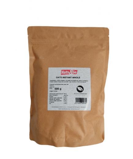 Nuts & Go - Whole Wheat Flour 500g - Neutral