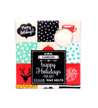 O.W.N Candles - Cera para quemador - Happy Holidays - 4 uds.