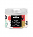O.W.N Candles -  Vela de viaje vegana - Happy Holidays