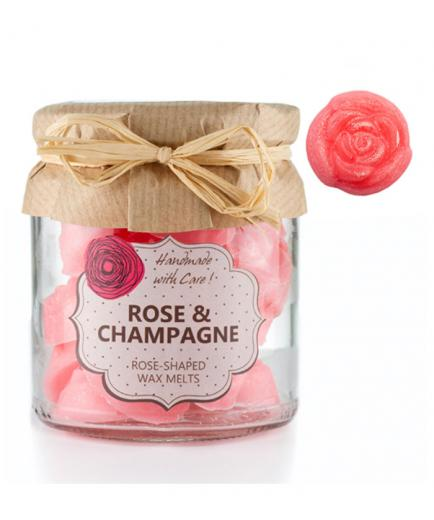 OWN Candles - Burner wax - Rose & Champagne - 18 uds.