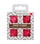 O.W.N Candles - Cera para quemador - Sweet Cherry - 4 uds.