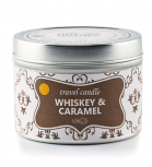 O.W.N Candles -  Vela de viaje - Whiskey & Caramel