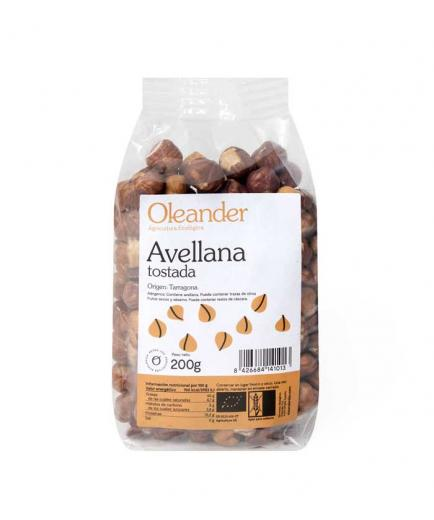 Oleander - Bio roasted hazelnuts in compostable container 200g