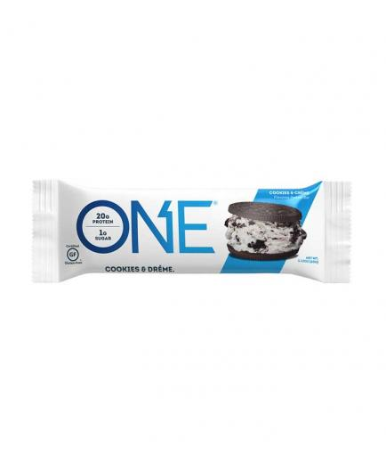 ONE - Gluten-free protein bar 60g - Cookies and cream