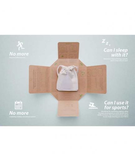 OrganiCup - Reusable menstrual cup - Mini Size