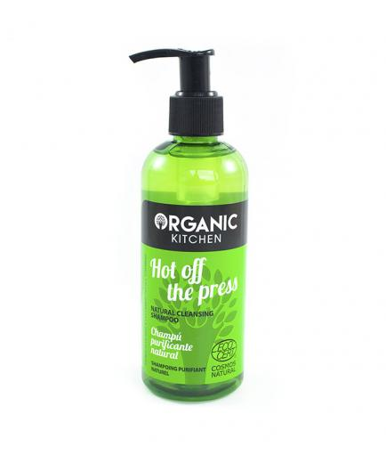 Organic Kitchen - Hot off the press Natural cleansing shampoo