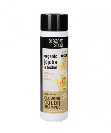 Organic Shop - Shampoo for dyed hair - Golden Orchid
