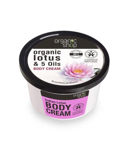 Organic Shop - Body cream - Organic lotus and 5 oils