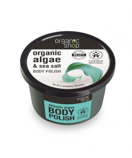 Organic Shop - Body scrub - Organic seaweed and sea salt