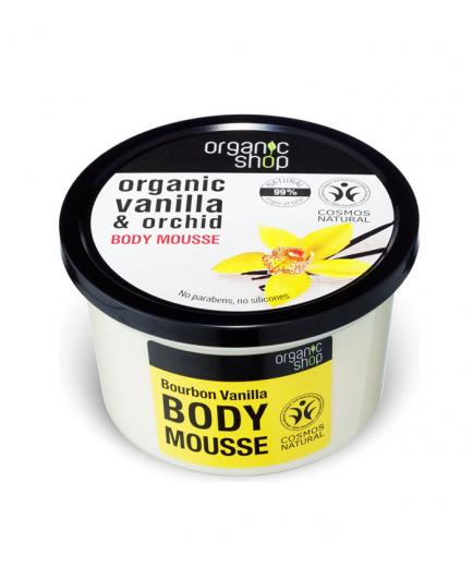 Organic Shop - Body Mousse - Organic vanilla and orchid