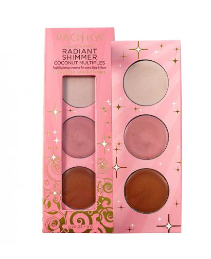 Pacifica - Radiant Shimmer Illuminating cream palette