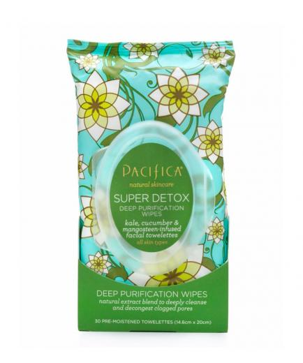 Pacifica - Cleansing Wipes - Super Detox