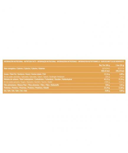 Paleobull - Natural Energy Bar - Orange and Chia