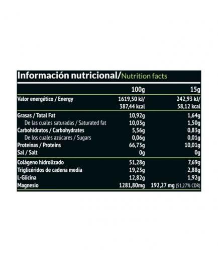Paleobull - Elixir: Collagen + TCM Oil 450g - Cocoa