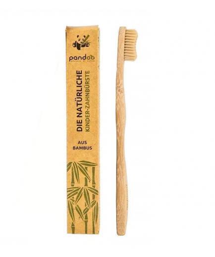 Pandoo - Bamboo toothbrush for children