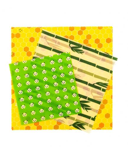 Pandoo - Reusable Wrapping Paper Set of 3