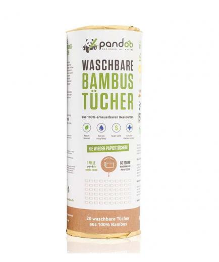 Pandoo - Bamboo reusable kitchen roll