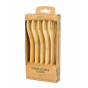 Pandoo - Bamboo Forks Set of 5