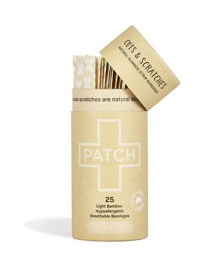 PATCH - Biodegradable Organic Bamboo Strips  - Natural