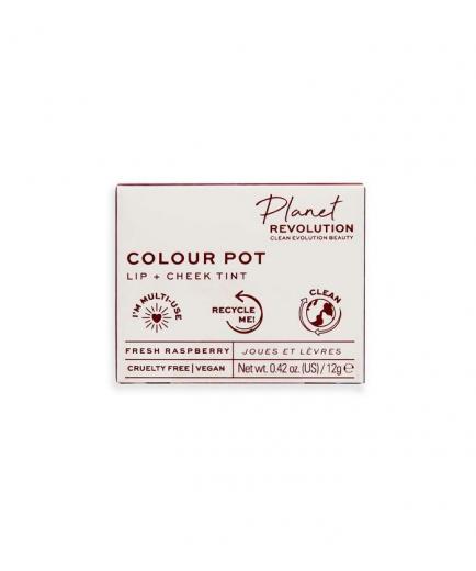 Planet Revolution - The Colour Pot Lip and cheek stain - Fresh Raspberry