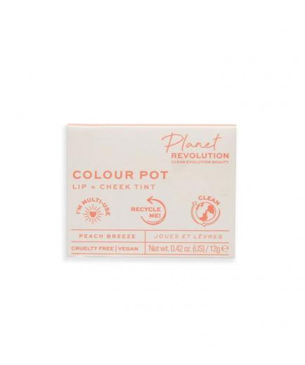 Planet Revolution - The Colour Pot Lip and cheek stain - Peach Breeze