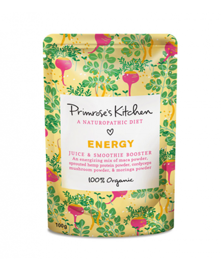 Primrose`s Kitchen - Organic Energy Juice and Smoothie Booster - Energy