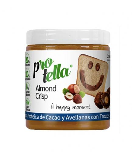 Protella - Chocolate cream with almond chips Almond Crisp 250g