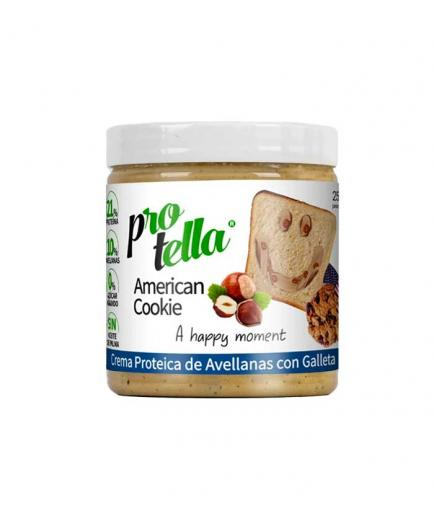 Protella - Chocolate and hazelnut spread 250g - American Cookie