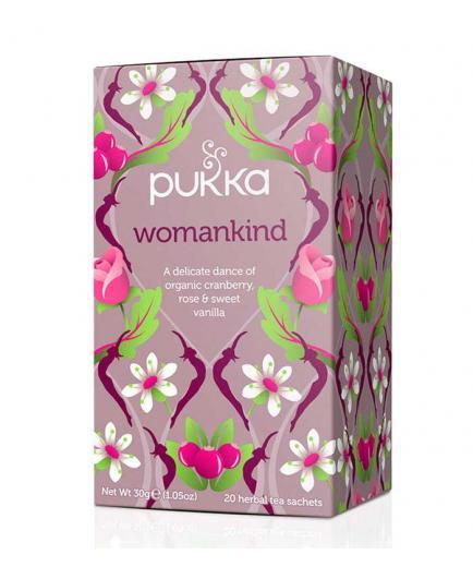 Pukka - Womankind Cranberry, Rose & Vanilla Infusion - 20 Sachets