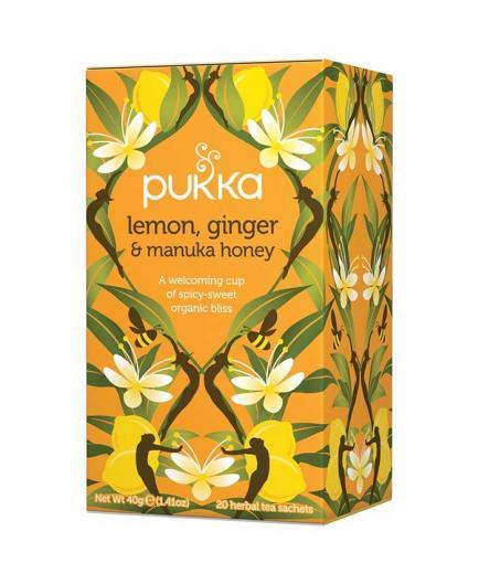 Pukka - Lemon, ginger and manuka honey Infusion - 20 Bags