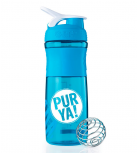 PUR YA! - Shaker bottle - Blue