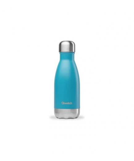 Qwetch - 260ml Stainless Steel Isothermal Bottle - Turquoise