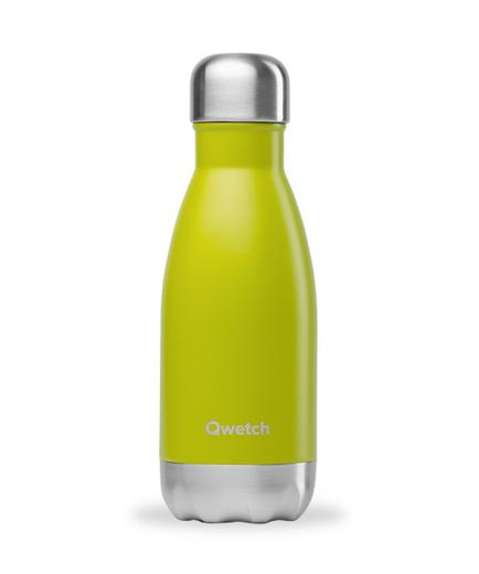 Qwetch - Isothermal Stainless Steel Bottle 260ml - Green